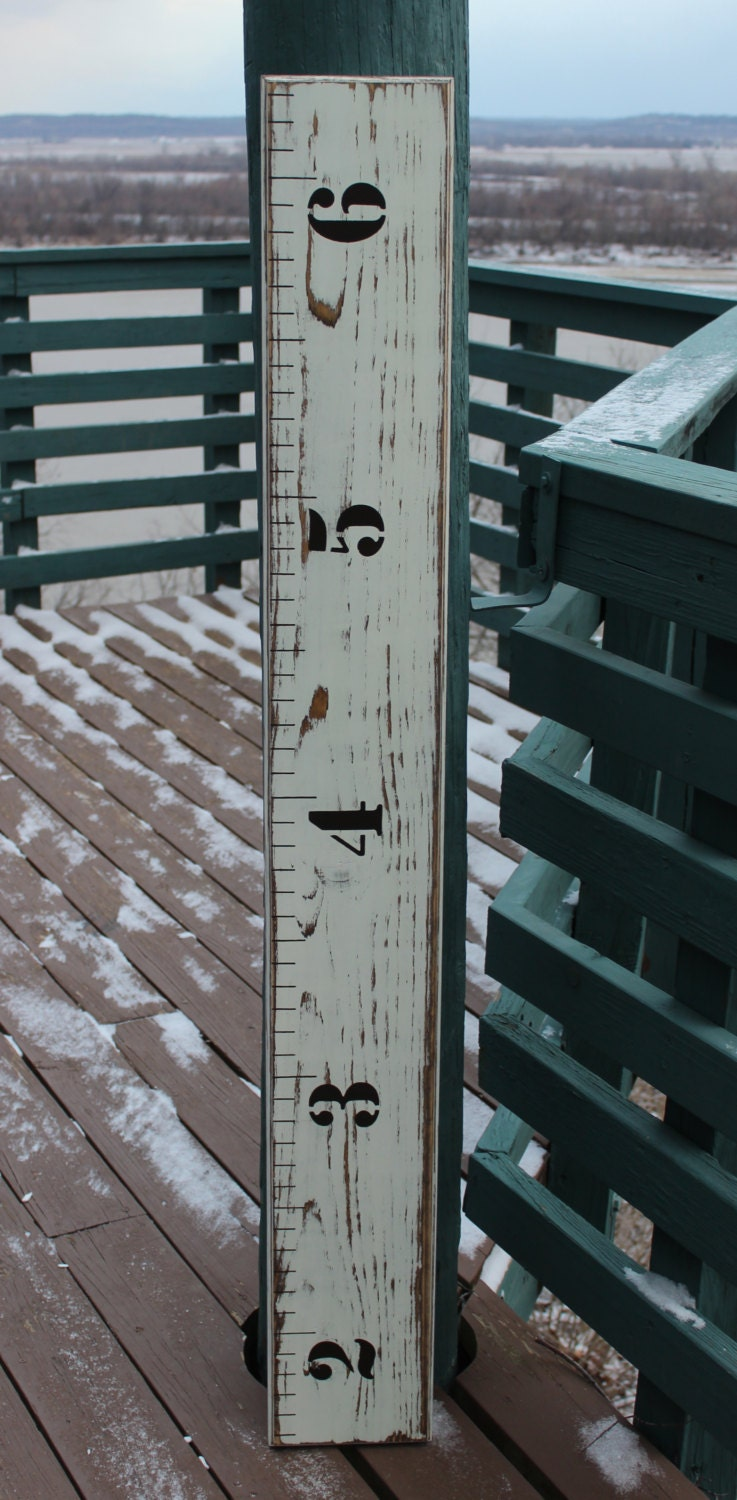 children u0026 39 s wooden growth chart ruler for a nursery baby
