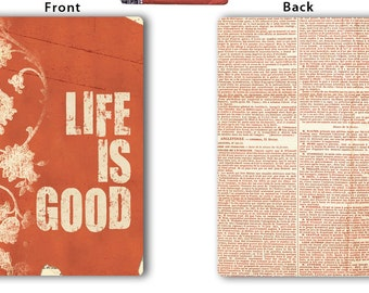7 Gypsies Book Cover  Life is Good Design