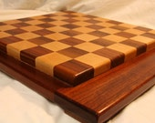 Chess Board - maple walnut sapele