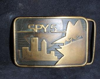 Bronze corporate buckle