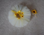 Precious  Little Miss Sunshine Yellow Tutu  newborn