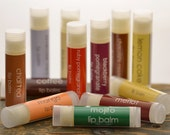 Lip Balm Wholesale - Wedding Favors - Shower Favors - Party Favors - qty: 100 - fruit lip balm - summer lip balm