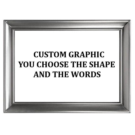Custom Graphic Print