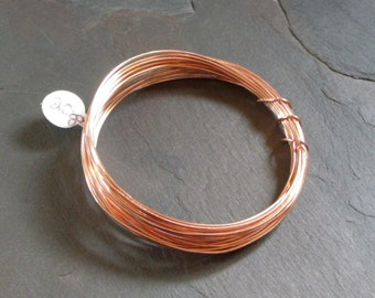 20 gauge Bare Solid Copper Wire - 15 feet