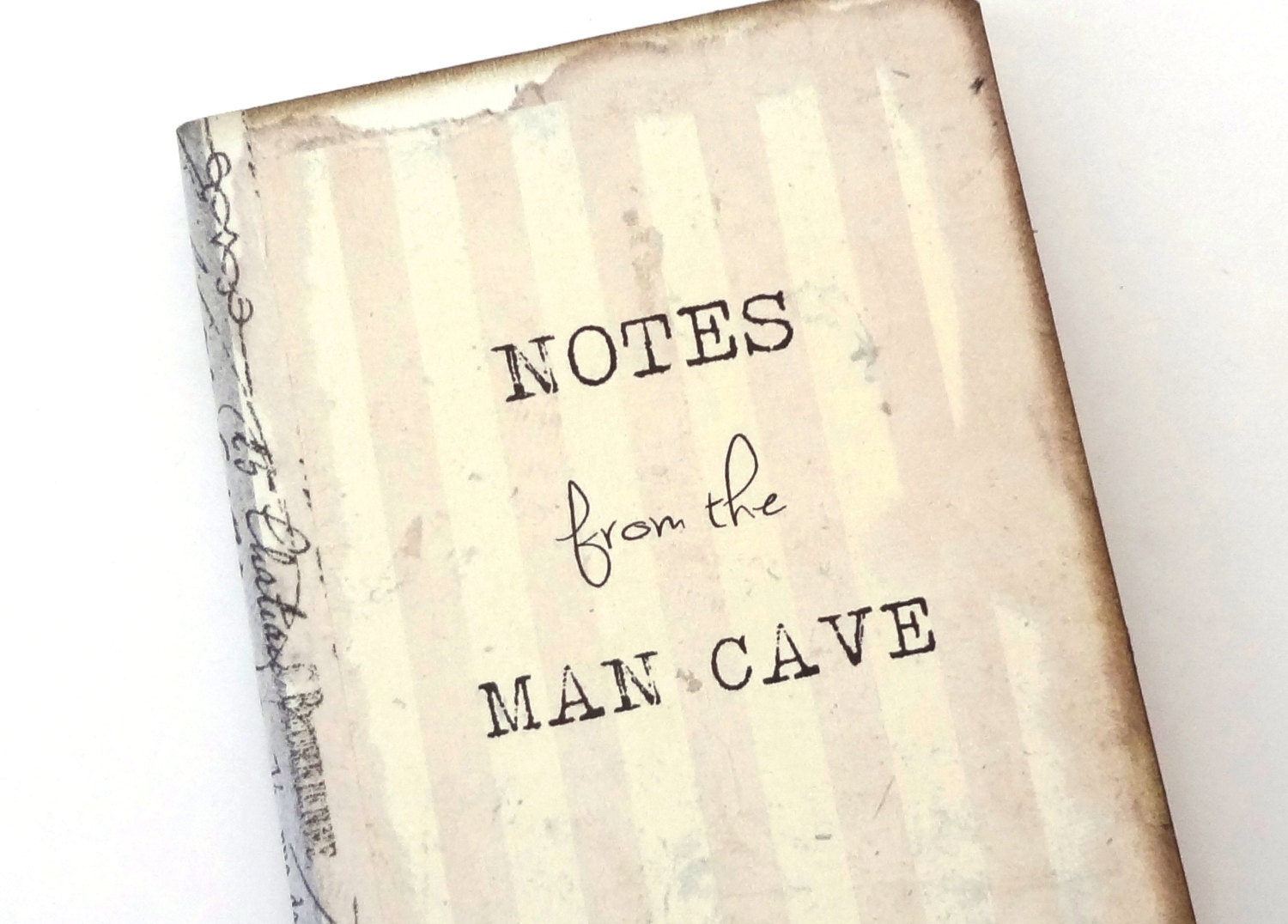 Man Cave Gifts For Him : Man cave journal gift for him gag bachelor by