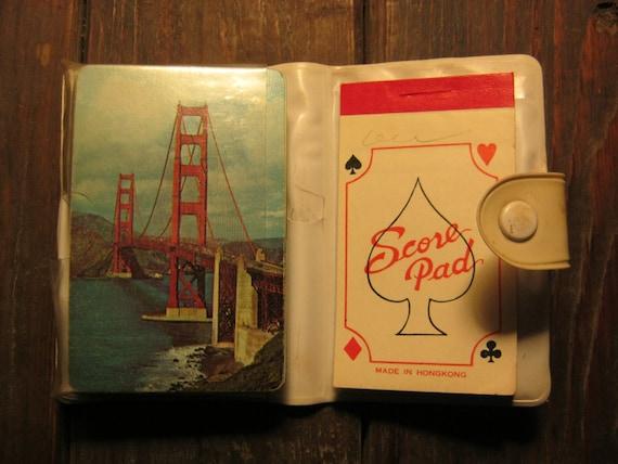 Great Vintage San Francisco Souvenir Playing Card Set Retro