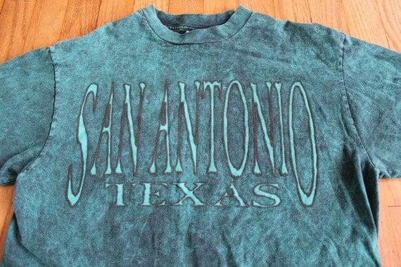 sale vintage san antonio t shirt raised ink by