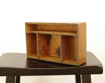 Vintage Helene Curtis Cold Wave Wooden Box