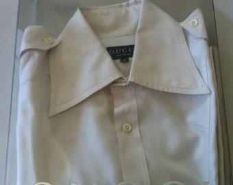 Gucci off white shirt
