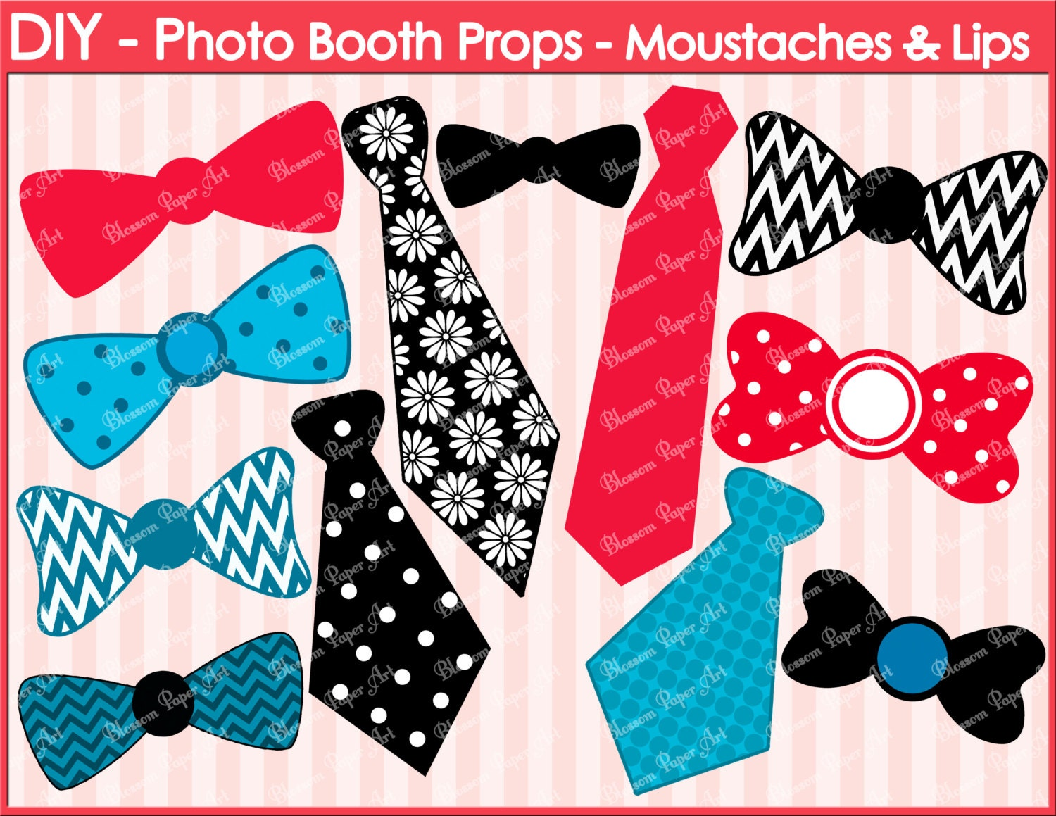 Free Printable Photo Booth Props DIY