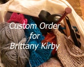 Custom order for Brittany Kirby Bow headband in White