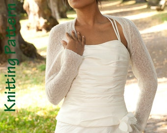 Knitting Pattern Wedding Shrug