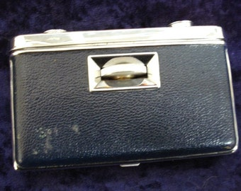 FFANTASTIC Pocket Size Vintage Folding Opera or Sports Binoculars Black Leather Japan Belegravia