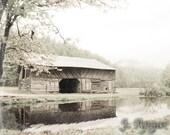 Great Smokies Barn - 8x10 Fine Art Photography Print
