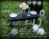"The Forest Hill Collection Plates-Set 1-""Season of the Rabbit""-FIRST EDITION"