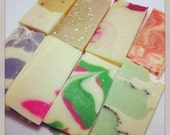 Soap Sampler - Cold Process Silk Soap Sampler,  Vegan,  CrueltyFREE