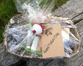 Homemade Gift Baket-Includes natural chapstick, homemade natural soap-Great gift for Father's Day