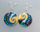 Gifts from the Sea Disc Earrings