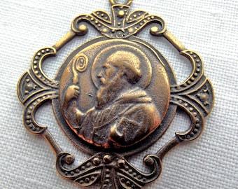 Bronze St. Benedict Medal VP808