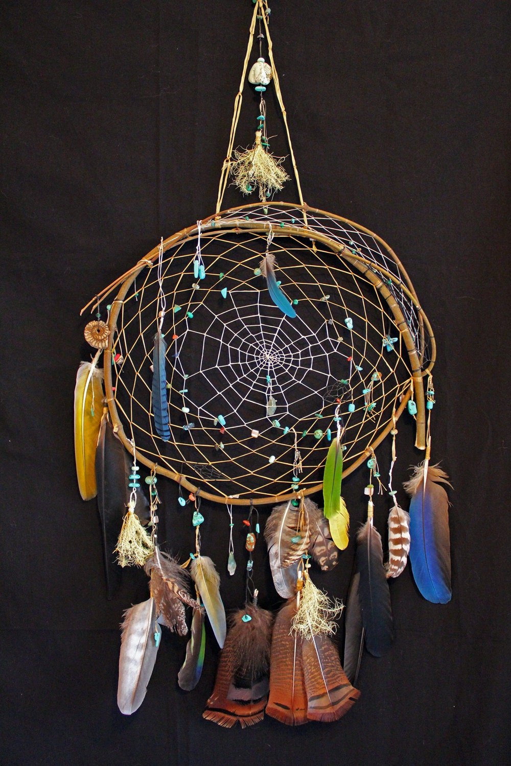 Native american made dream catchers