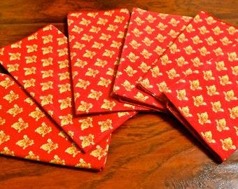 Provence napkins. set of six France
