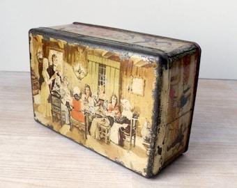Vintage Brood and Banketbakkerijer Food Tin - Rotterdam
