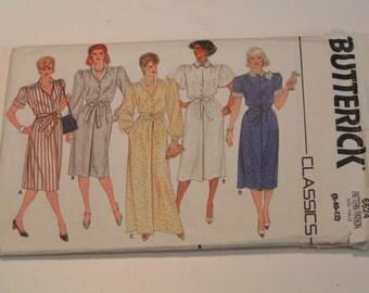 Vintage Butterick Pattern 6624 Classics Miss Dress