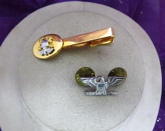 Vintage US Navy Tie Bar & Pin
