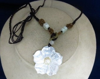 Hand Made Mother Of Pearl Necklace