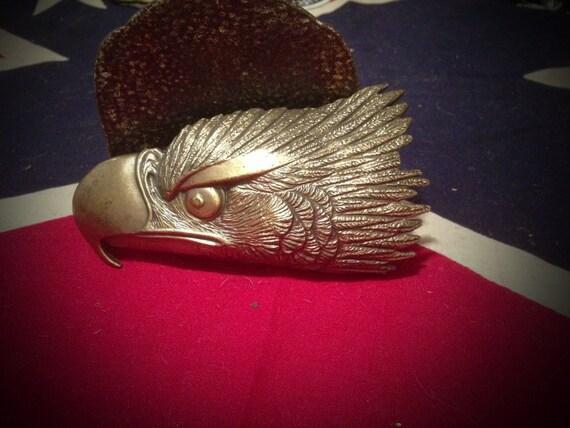Vintage Brass Belt Buckles Vintage Brass Eagle Head Belt