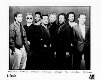 UB 40 Publicity Photo   8 by 10 Inches