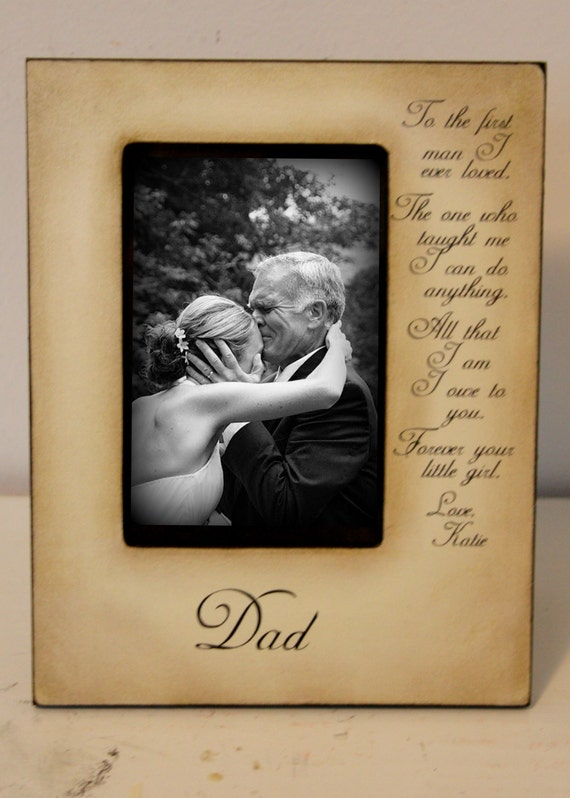 Wedding Picture Frame Father Daughter Wedding Frame Bride Walk