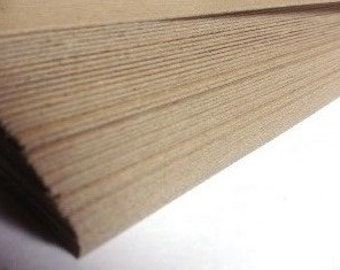 FREE SHIPPING - Chipboard for paper crafting and design 8.5 x 11 x .022 in - Make book spines, book marks, soft cover books and more!
