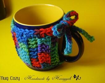Mug cozy or mug warmer - handmade crochet - Stocking Stuffers