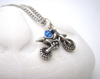 popular items for dirt bike jewelry on etsy