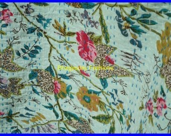 Nakshi Kantha Embroidery Bed Cover