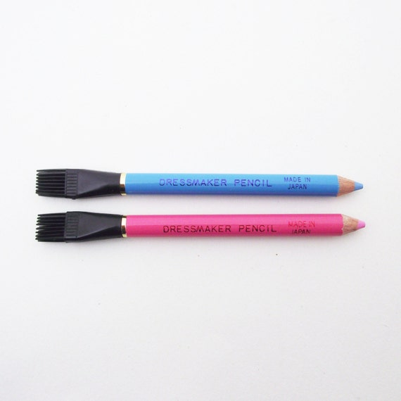 Dressmaker pencil. Tailors chalk pencil for marking out