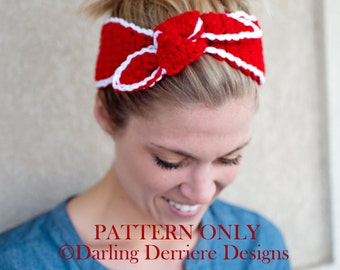 Instant Download PDF Knot Headband Pattern