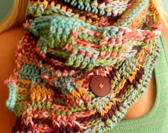 The Artisan Wrap Scarf PATTERN ONLY