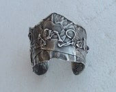 very antique bracelet made in Palestina silver 925 hand made circa 1940's