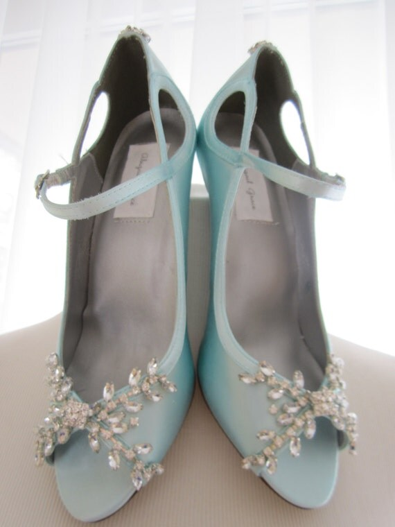 tiffany blue wedding shoes beautiful blue wedding shoes bridal heels rhinestone 8002