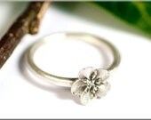 """Ring """"forget-me-not"""" made of 925 silver"""