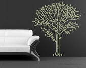 Large 6 Foot Tall Circuit-Tree circuitry Geeks love nature too, computer geek wall sticker tree wall art programming circuit board tree