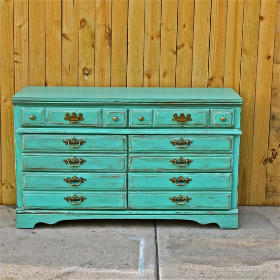 Blue Distressed Furniture