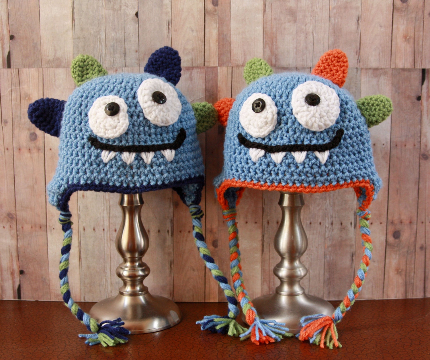 Unique Crochet Monster Hat Free Pattern Motif - Sewing Pattern for ...