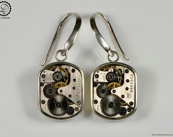 Beta Earrings - Tempus Fugit Series   Machinarium Collection