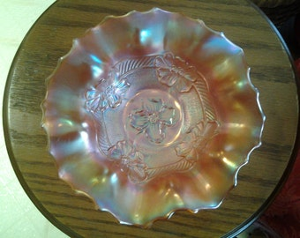Dugan Marigold Apple Blossom Glass Bowl