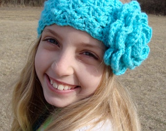 Instant Download - CROCHET HEADBAND PATTERN Tangled Headwrap