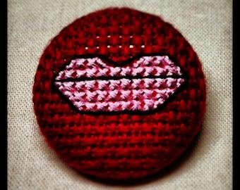 Lips of Love Pin