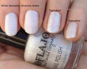 White Sensation from the Matte Love Nail Polish Collection